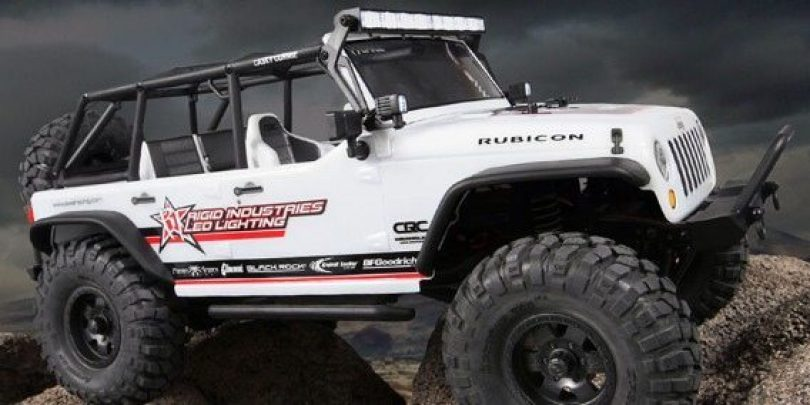 Axial's new Jeep Wrangler Unlimited C/R Edition RTR