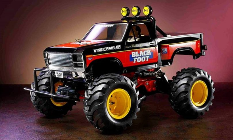 Tamiya's Classic Blackfoot to be Re-released