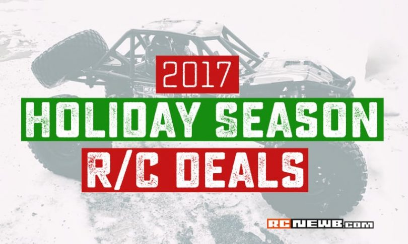 2017 Black Friday, Cyber Monday & Holiday R/C Discounts & Sales