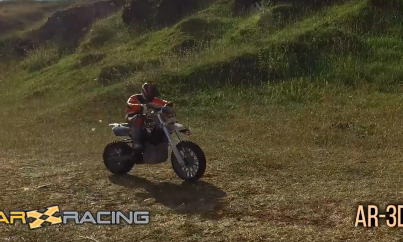 A Two-wheeled Treat: AR Racing's Upcoming 1/5-scale AR-3D R/C Motocross Bike