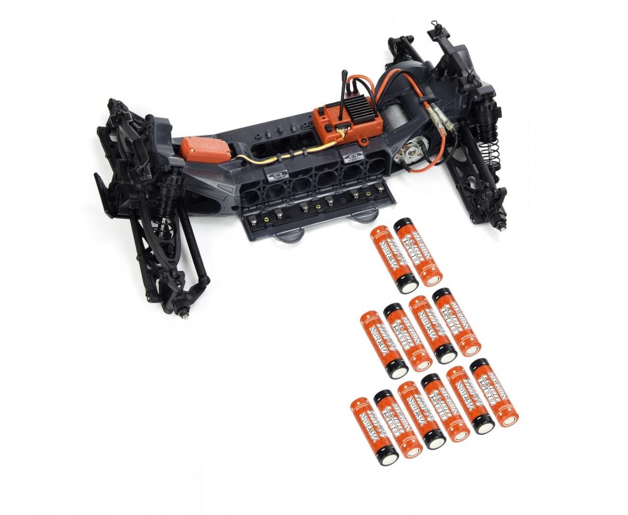 ARRMA Fazon Voltage - Battery Setup