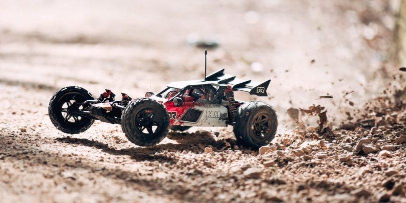 ARRMA's Ramped-up Raider-XL 1/8 R/C Buggy