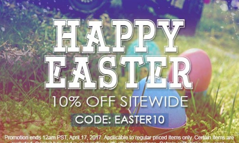 Save 10% on Your Order with ATees Easter Sale