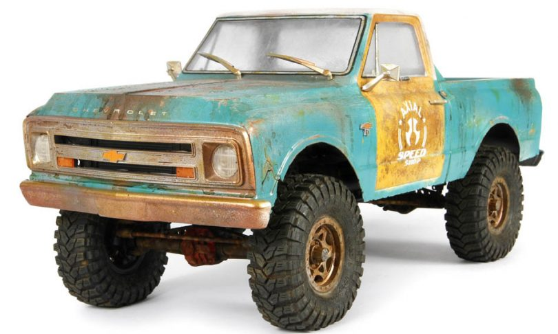 Axial's 1967 Chevrolet C-10 Clear Body Set
