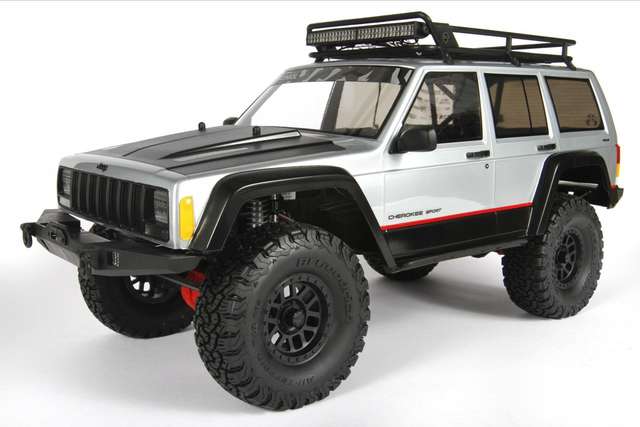 Update Your Scx10 With Axial S 2000 Jeep Cherokee Body