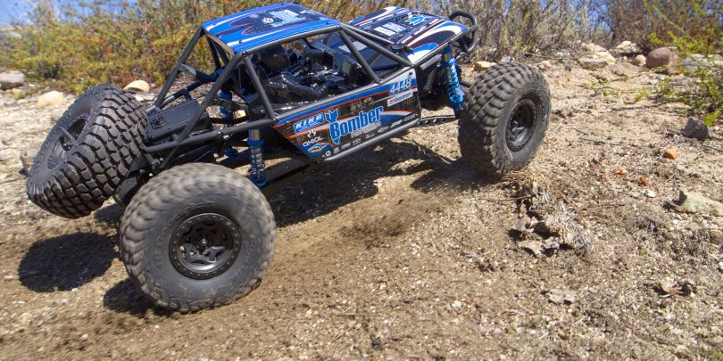 """Axial's New """"Bomb"""" R/C: the Bomber RR10 Rock Racer"""