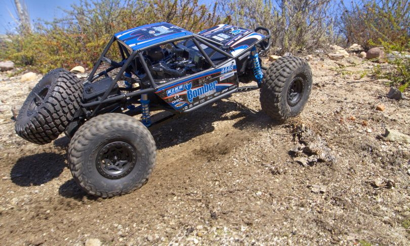 "Axial's New ""Bomb"" R/C: the Bomber RR10 Rock Racer"
