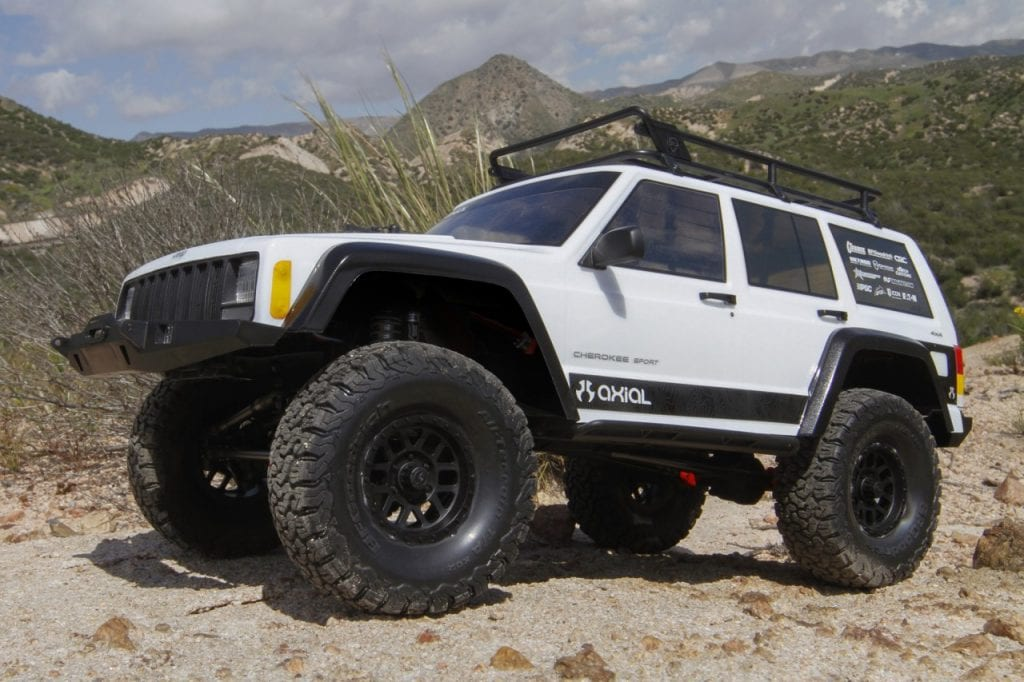 Axial SCX10 II 2000 Jeep Cherokee - Outdoors