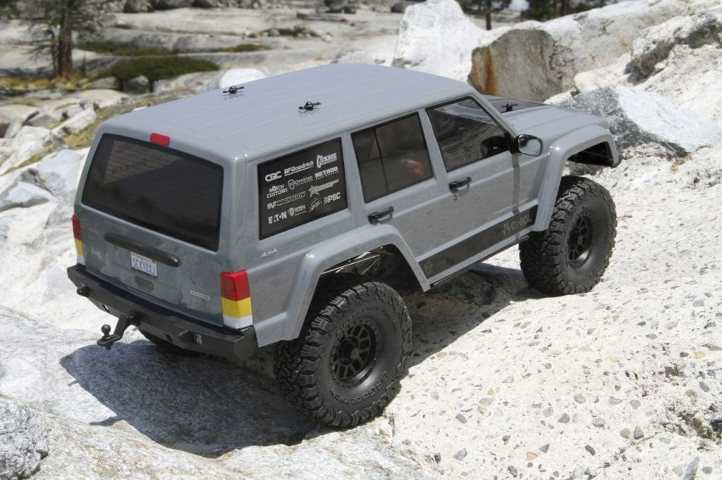 Axial SCX10 II RTR Rear