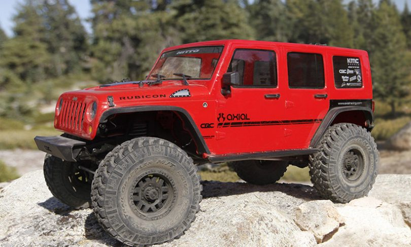 Axial's SCX10 II 2017 Jeep Wrangler Unlimited CRC 1/10-scale RTR