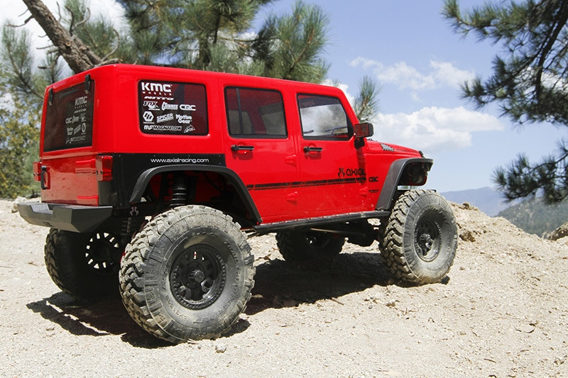 Axial SCX10II 2017 Jeep Wrangler Unlimited CRC - Outdoors Rear
