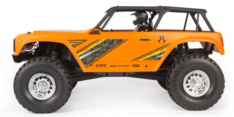 Axial Wraith 19 RTR - Side