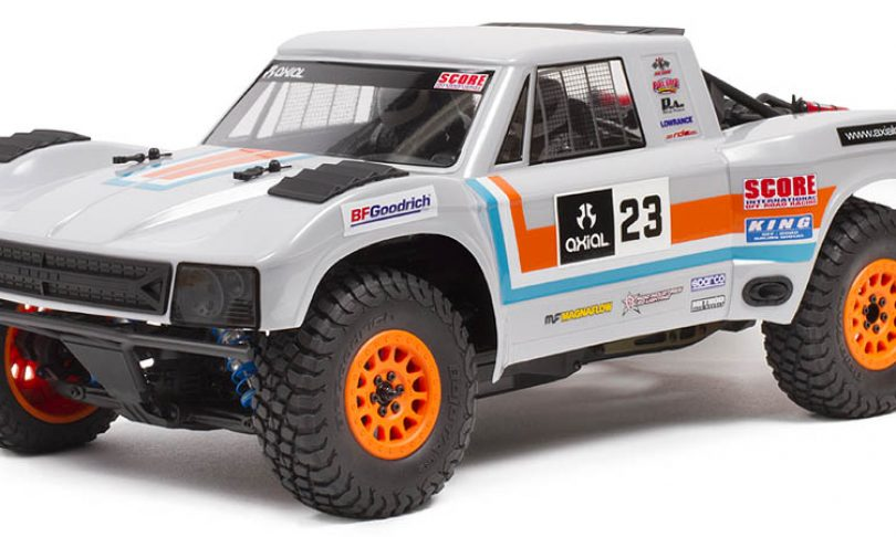 Axial's Yeti SCORE Trophy Truck Now Available as a Kit