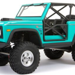 Live the Retro Off-road Lifestyle with Axial's SCX10 III Early Ford Bronco RTR