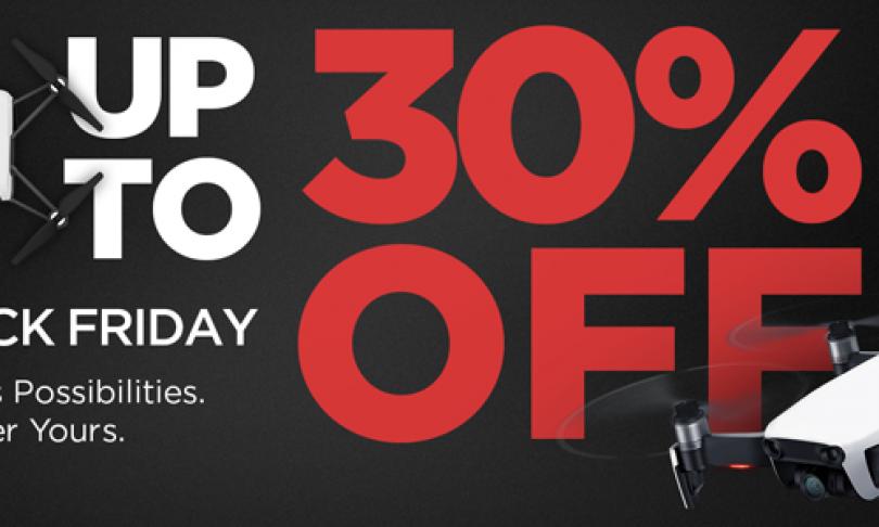 Black Friday Deals on DJI Quadcopters at BuyDig.com