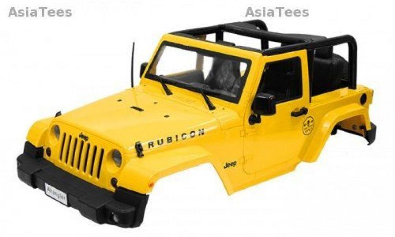 Boom Racing Releases Two New 1/10 Jeep Wrangler Hardbodies