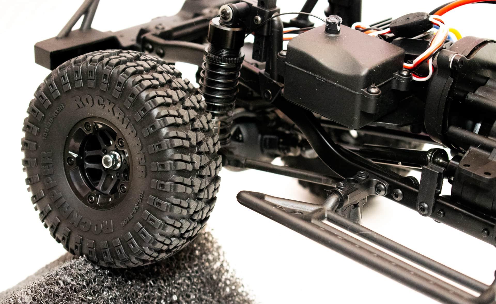 Carisma Scale Adventure Lynx ORV - Wheel Closeup