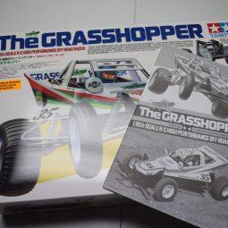 "Building an R/C Car Kit: Unboxing Tamiya's ""The Grasshopper"""