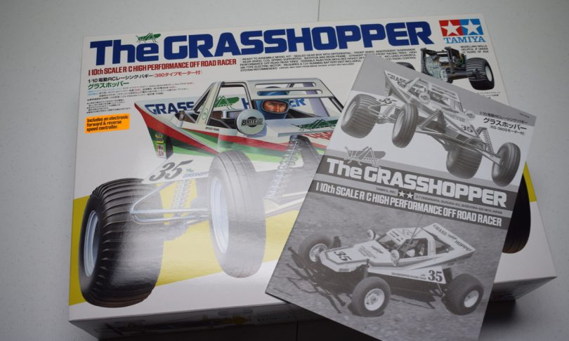 "Building an R/C Car Kit: Unboxing Tamiya's ""The Grasshopper"""