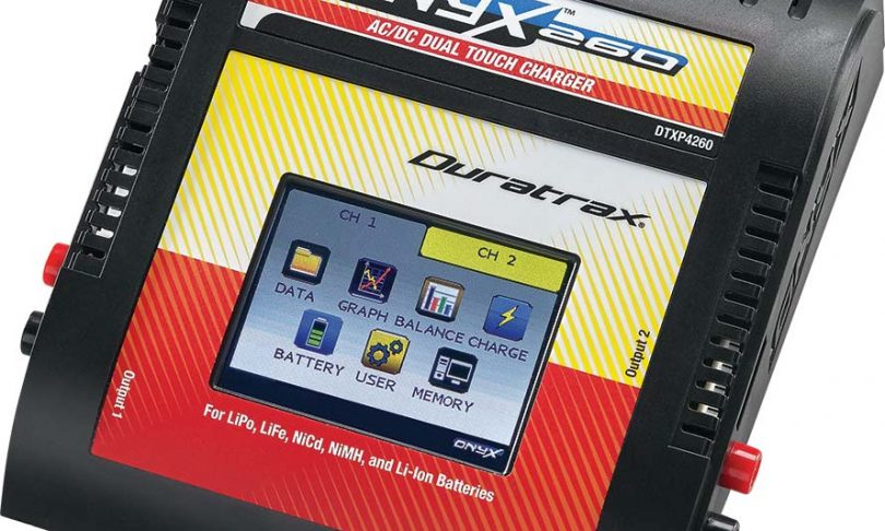 Duratrax Introduces the Onyx 260 Touch Screen Charger