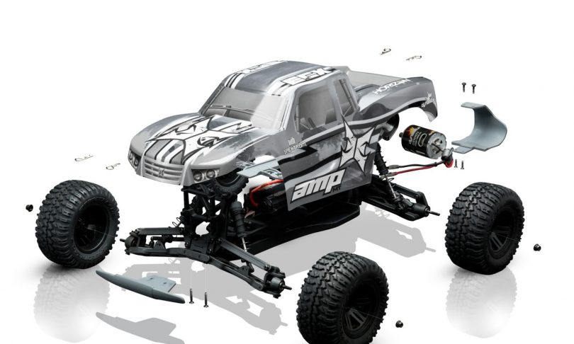 ECX Puts a New Spin on Traditional R/C Kits with the AMP MT: BTD