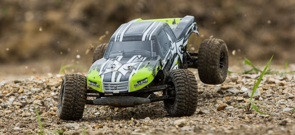 ECX Amp 2WD RC Monster Truck Getting Dirty