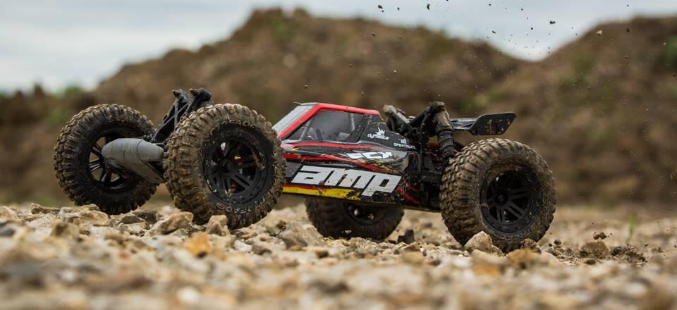 ECX Amp Desert Buggy in the Dirt