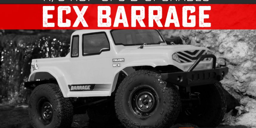 Upgrades and Hop-ups for the ECX Barrage
