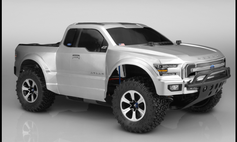 New Scale SCT Ford Atlas Body from JConcepts