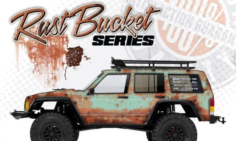 Freqeskinz Rust Bucket Series Axial SCX10 Body Wraps