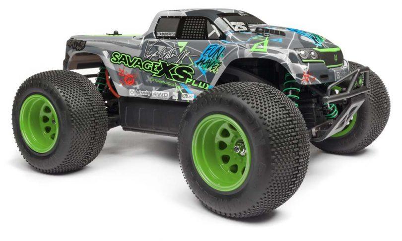HPI Savage XS Flux Mini-Monster Truck: Vaughn Gitten Jr. Edition