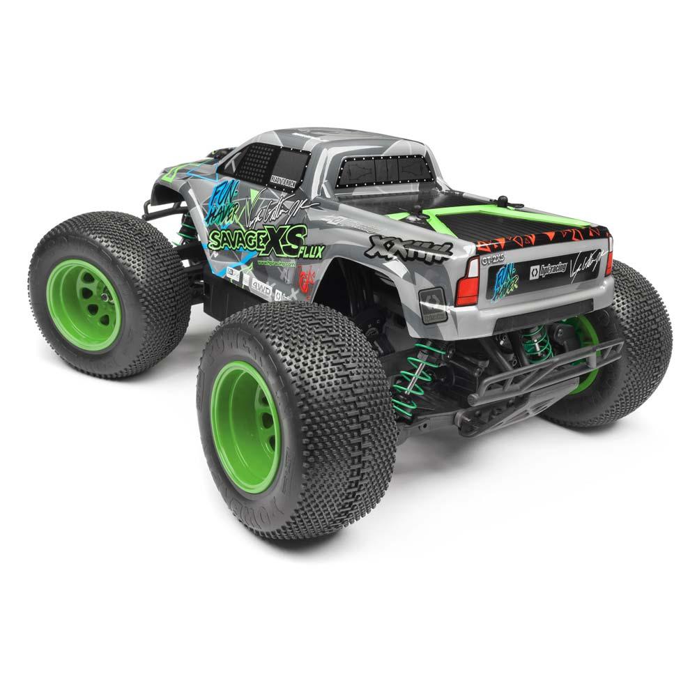 HPI XS Flux Monster Truck - VGJR - Rear