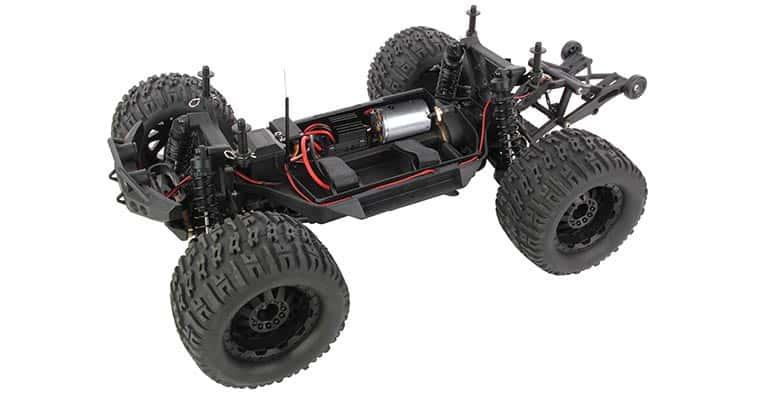 Helion Avenge 10MT XB RC Monster Truck - Chassis