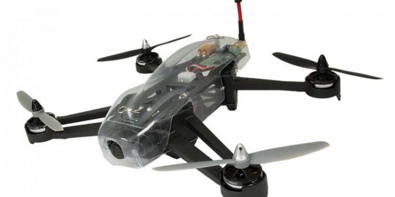 Hitec's QuadRacer 280 FPV Multi-rotor Aircraft