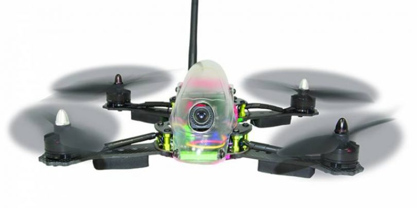Hitec's Vektor 280 FPV Racing Quadcopter