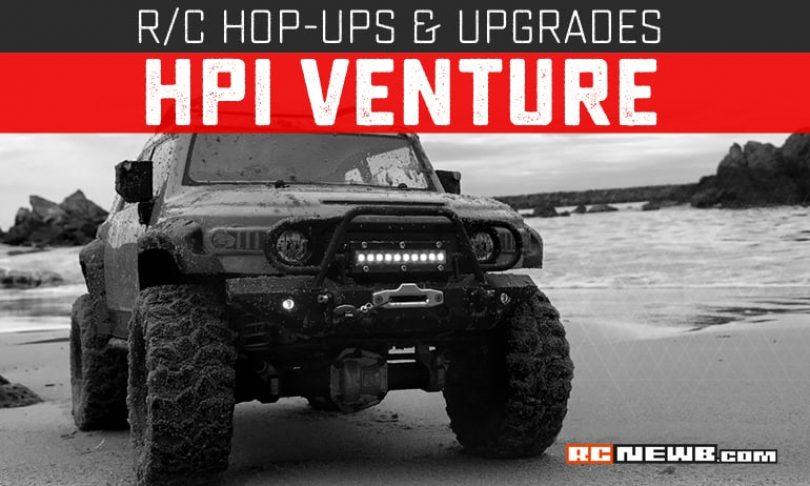 Upgrades and Hop-ups for the HPI Venture FJ Cruiser