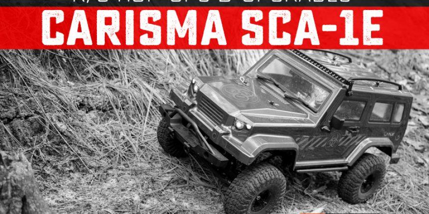 Upgrades and Hop-ups for the Carisma Scale Adventure SCA-1E
