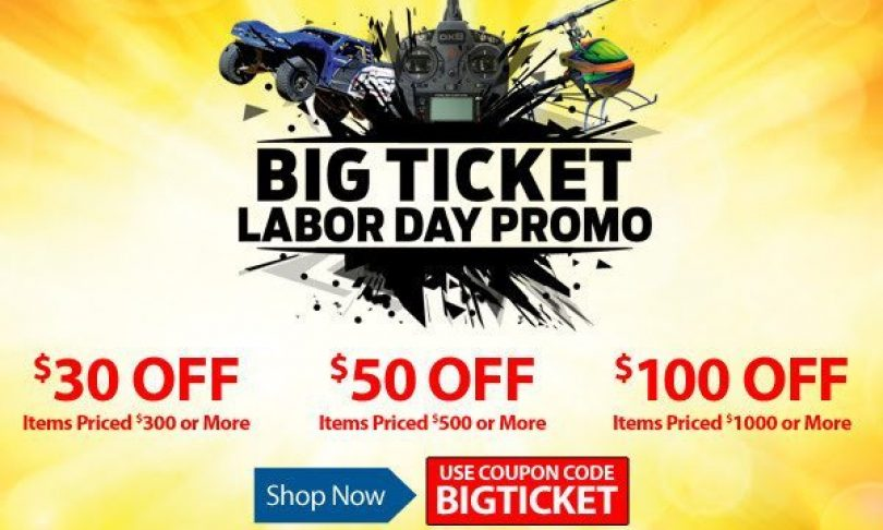 Horizon Hobby's Labor Day Sale: Save on a Variety of R/C Models and Upgrades