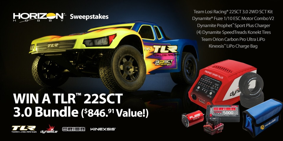Horizon Hobby TLR 22SCT 3 Contest
