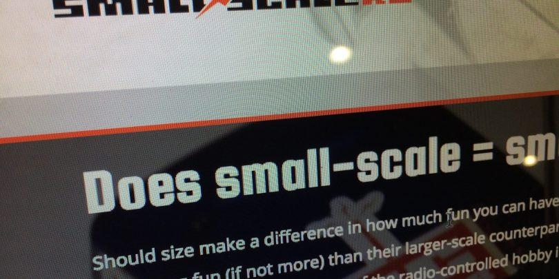 A Little Project: Introducing, SmallScaleRC.com