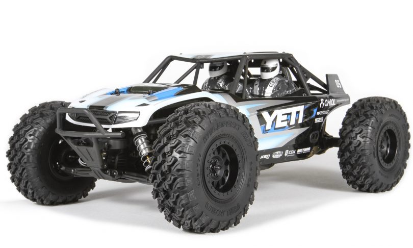 Feed the need to build with Axial's new 1/10-scale Yeti kit.
