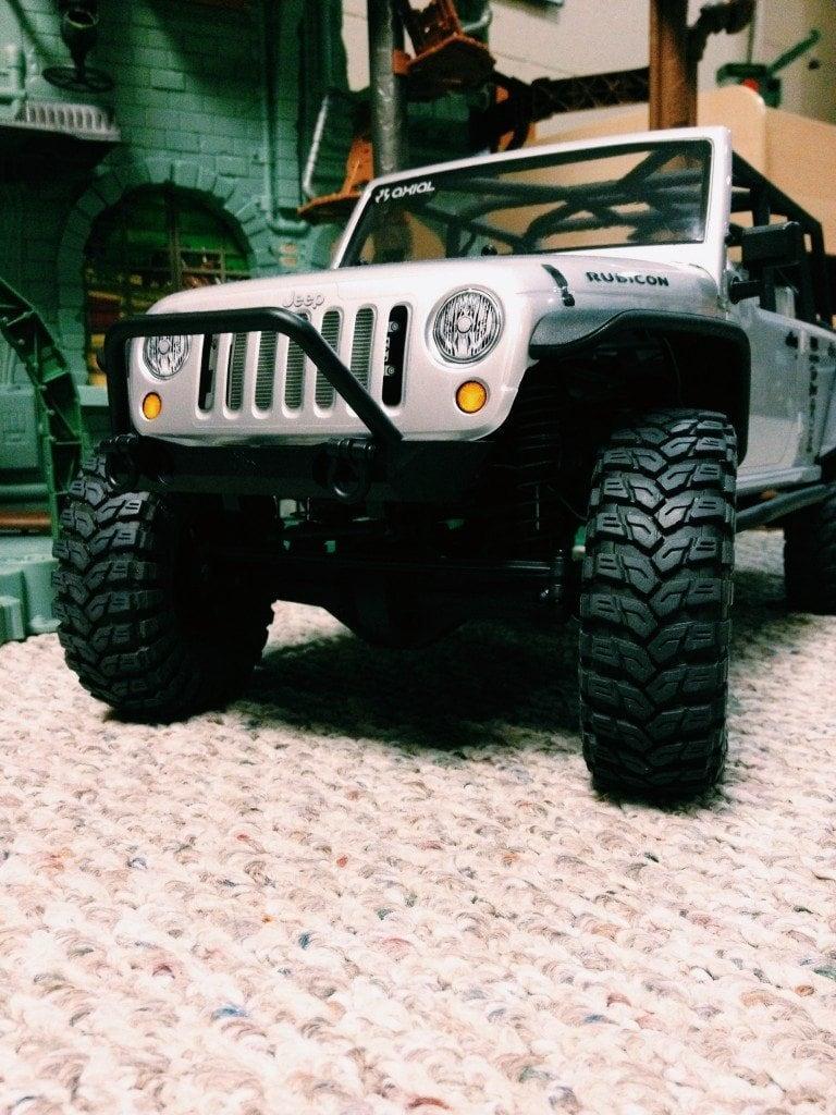 Axial SCX10 Jeep Wrangler Unlimited Rubicon