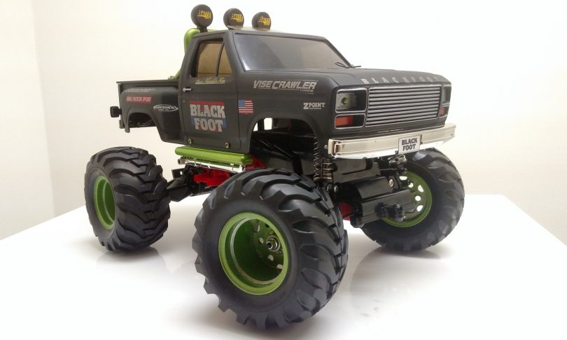 2RCProductions Customizes the Tamiya Blackfoot
