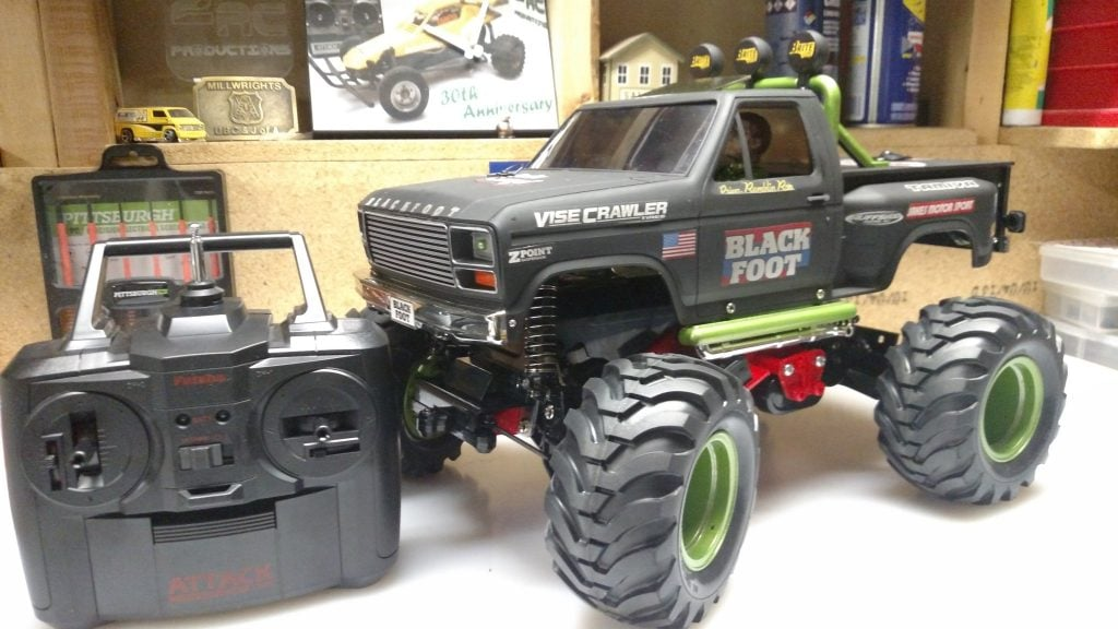 2RCProductions Custom Tamiya Blackfoot (2016)