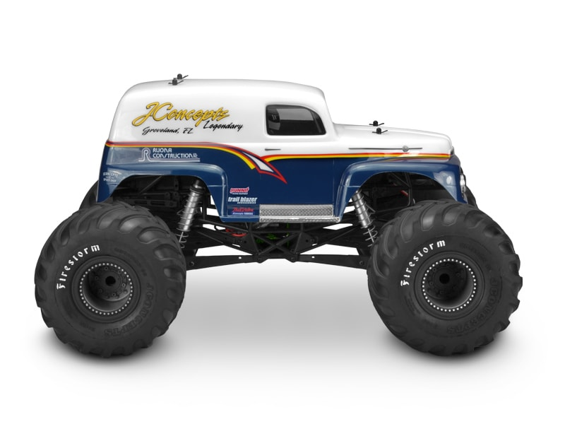 JConcepts 1951 Monster Truck Panel Truck Body - Side