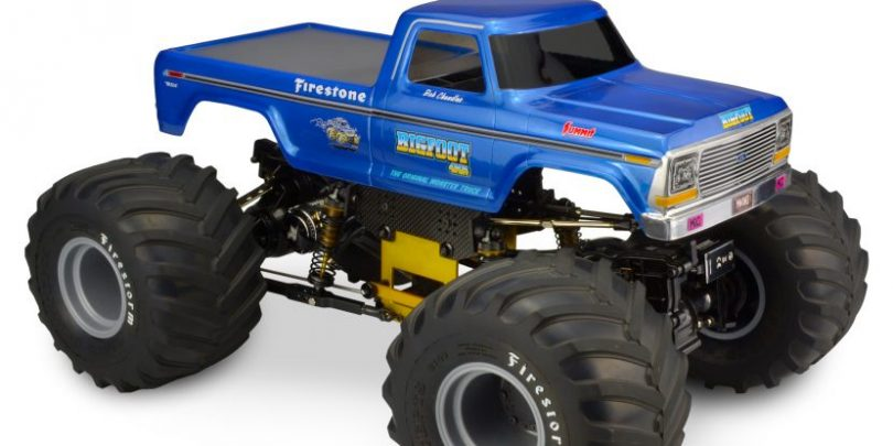 Go Big with JConcepts 1979 Ford F-250 Monster Truck Body