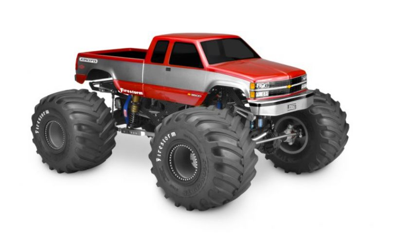 JConcepts '88 Chevy Silverado Monster Truck Body