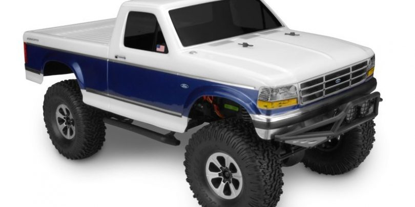 JConcepts 1993 Ford F-250 Body for Scale/Trail R/C Rigs