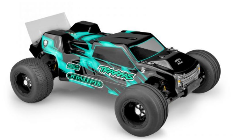 "JConcepts ""F2"" Body for the Traxxas Rustler VXL"