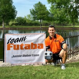 Jamie Robertson Takes Flight with Futaba